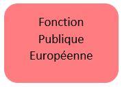 Fonction publique Européenne